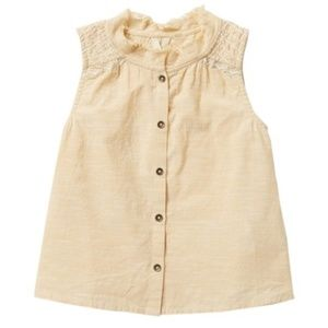 ROXY Girl's Catch The Clouds Sleeveless Top size 5